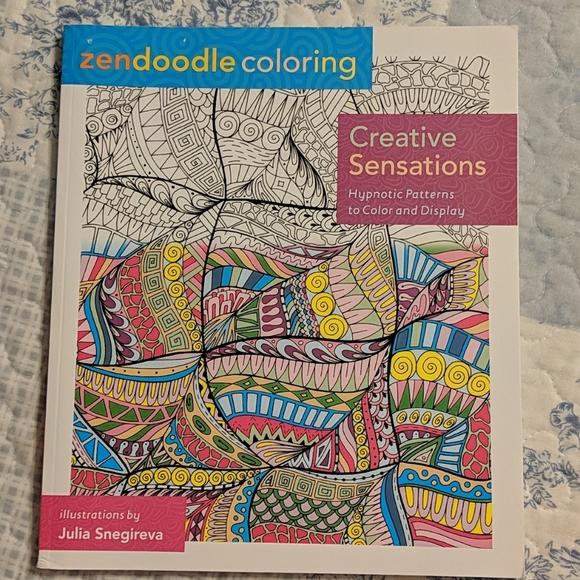 Office Zendoodle Coloring Book Poshmark